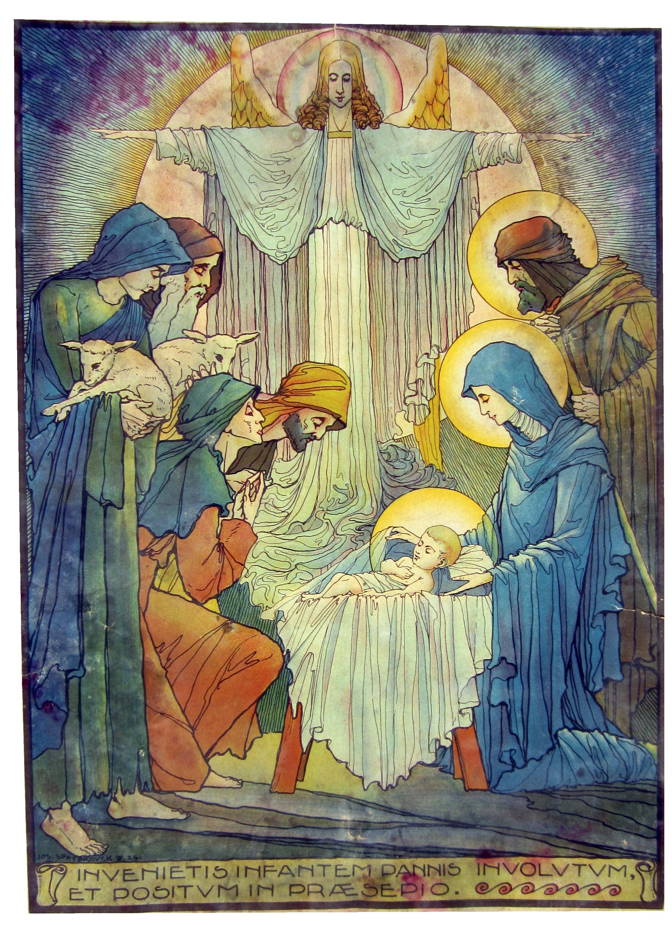 Natividade: Adoração dos pastores/ Calendário litúrgico