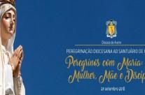 """""""Peregrinos com Maria: Mulher, Mãe e Discípula"""""""