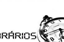 Horários dos Serviços Paroquiais