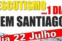 Escutismo… 1 dia em Santiago